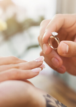 Custom Diamond Engagement Rings NYC